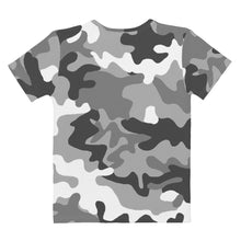 Load image into Gallery viewer, Bitcoin BTC Symbol Hot Pink, Women's V-neck T-shirt Camouflage
