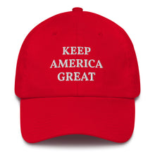 Load image into Gallery viewer, Keep America Great Baseball Cap
