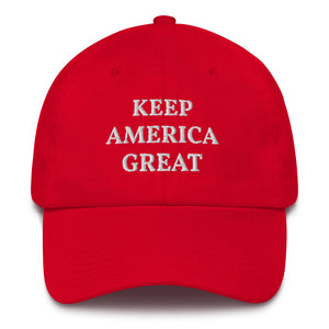 Keep America Great Baseball Cap