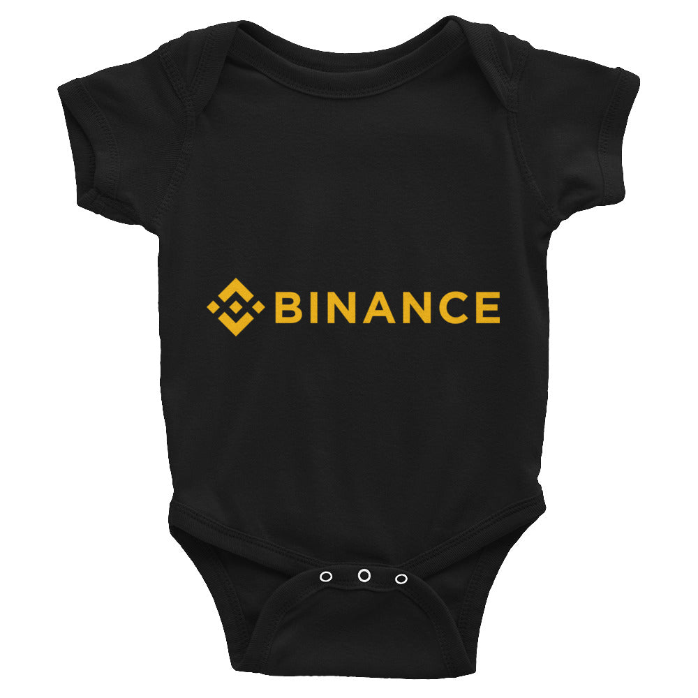 Binance Logo, Infant Bodysuit