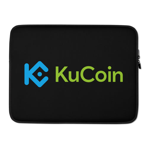 KuCoin Cryptocurrency Exchange Logo Laptop Sleeve