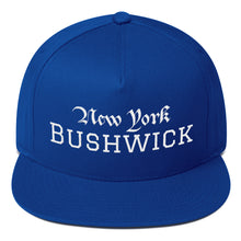 Load image into Gallery viewer, Customizable New York Neighborhood, Flat Bill Snapback Hat