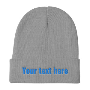 Design Your Own, Embroidered Beanie