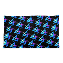 Load image into Gallery viewer, Beam Cryptocurency Logo Pattern, Black Premium Pillow Case only