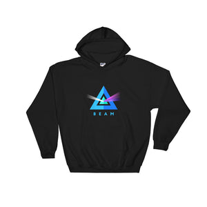 Beam Cryptocurrency Logo, Unisex Hooded Sweatshirt