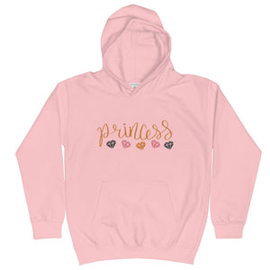 Princess and Diamonds, Kids Hoodie
