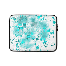 Load image into Gallery viewer, Watercolor Splash, Laptop Sleeve