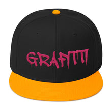 Load image into Gallery viewer, Grafitti Text 2, Snapback Hat