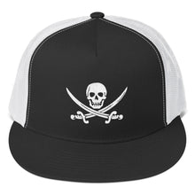 Load image into Gallery viewer, Pirates Skull, Classic Trucker Cap