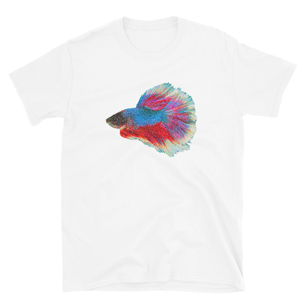 Betta Fish Dot Painted Unisex T-Shirt