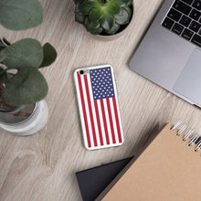 Load image into Gallery viewer, US Flag, iPhone 6/6S/7/7+/8/8+/X/X-max/XR Case