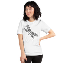 Load image into Gallery viewer, Black Dragonfly, Women's Short-Sleeve T-Shirt