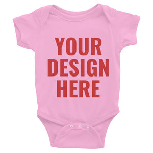 Design Your Own Double Side, Infant Bodysuit
