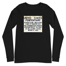 Load image into Gallery viewer, Alcatraz Prison Island Long Sleeve T-shirt