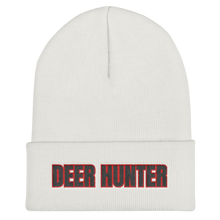 Load image into Gallery viewer, Deer Hunter Text, Unisex Cuffed Beanie