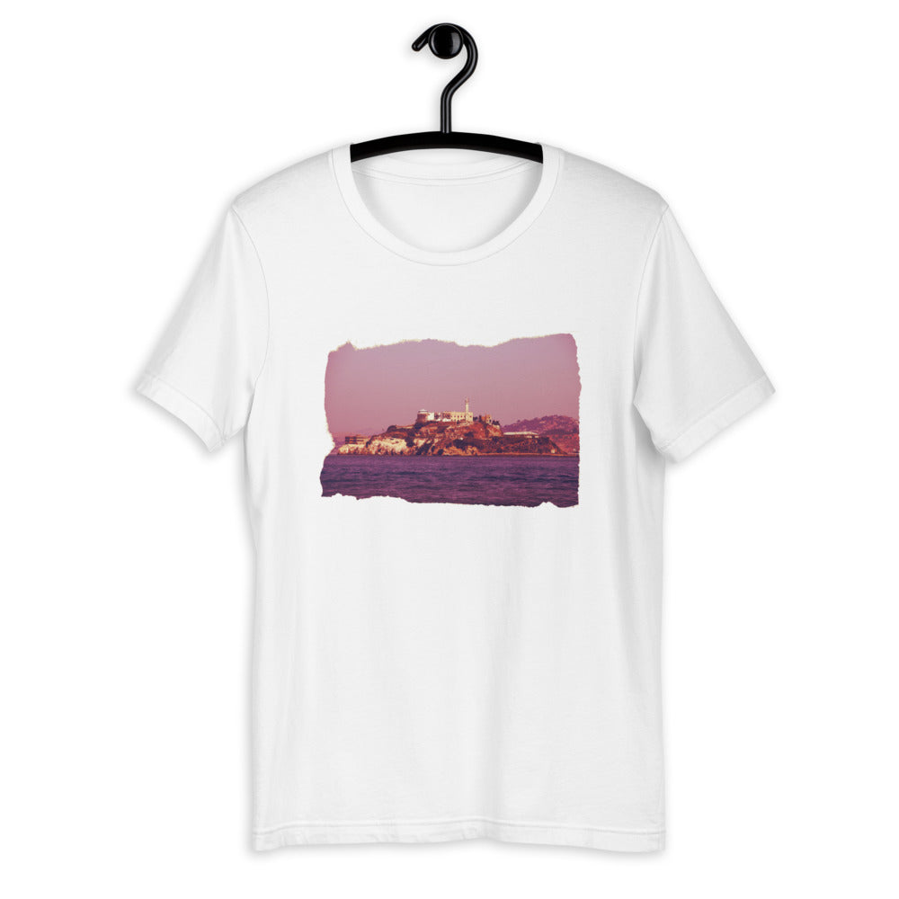 Alcatraz Island Photo Short-Sleeve Unisex T-Shirt