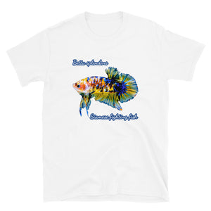Betta Splendens Siamese Fighting Fish T-Shirt