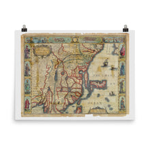 Load image into Gallery viewer, Old Map Of China 1626 Premium Luster Photo Paper Poster