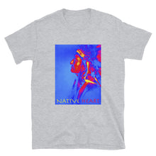 Load image into Gallery viewer, Native Heart American Indian Man, Short-Sleeve Unisex T-Shirt