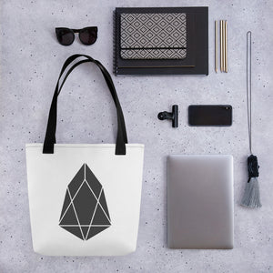 EOS Crypto Currency Logo, Tote bag