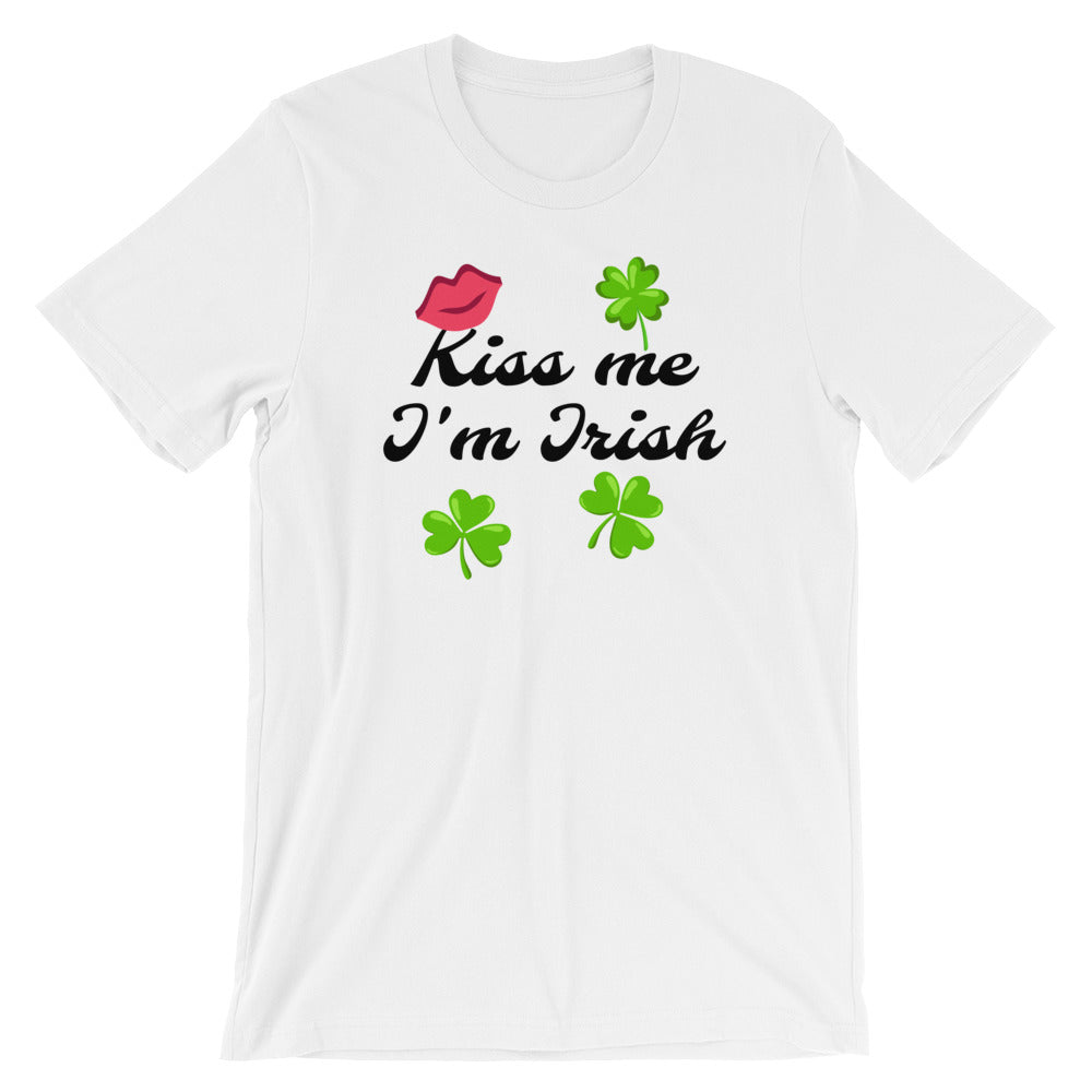 Kiss Me I'm Irish, Short-Sleeve Unisex T-Shirt