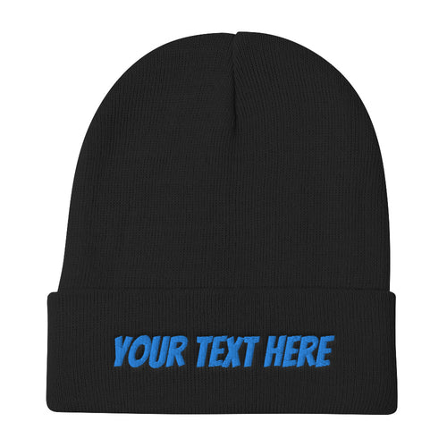 Design Your Own Embroidered Beanie Style 3