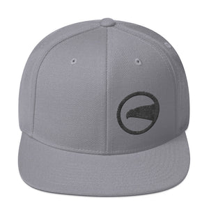 Black Eagle Head, Snapback Hat