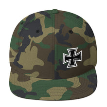 Load image into Gallery viewer, Maltese Cross, Snapback Hat