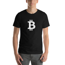 Load image into Gallery viewer, In Bitcoin We Trust White, Short-Sleeve Unisex T-Shirt