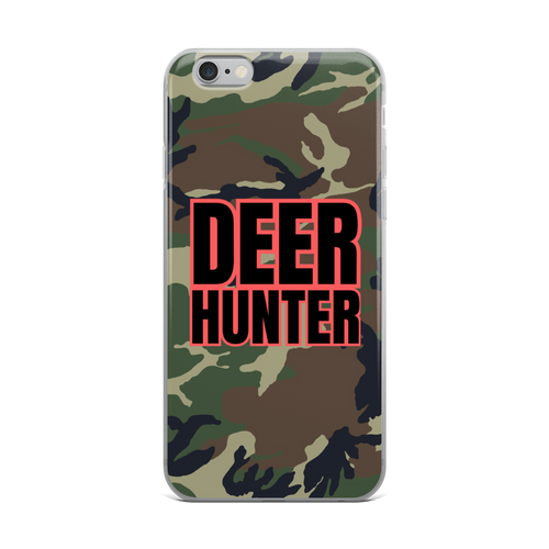 deer hunter camo iphone case