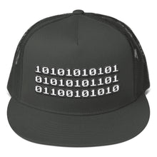 Load image into Gallery viewer, Machine Code, Flat Visor Mesh Back Snapback Hat