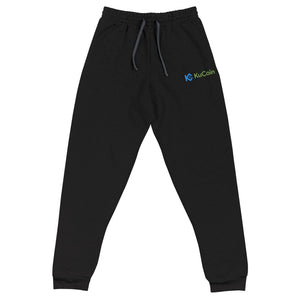 KuCoin Cryptocurrency Exhange Logo Embroidered Unisex Joggers