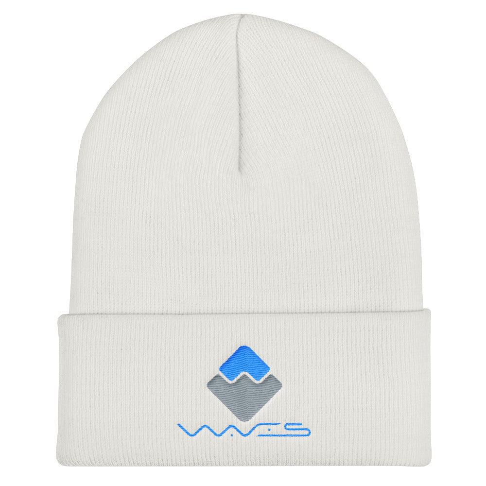 waves crypto apparel beanie hat