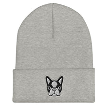 Load image into Gallery viewer, French Bulldog, Unisex Cuffed Beanie