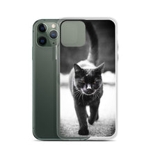 Load image into Gallery viewer, Black Cat, iPhone Case