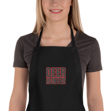 Load image into Gallery viewer, Deer Hunter Text, Embroidered Apron