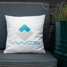 Load image into Gallery viewer, waves crypto home decor  premium pillow