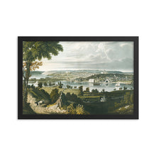 Load image into Gallery viewer, City of Washington 1834 Aquatint, Framed Poster