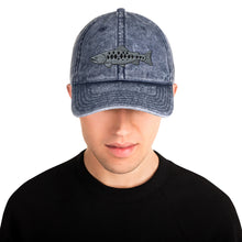 Load image into Gallery viewer, Salomon Fish, Embroidered Vintage Cotton Dad Hat