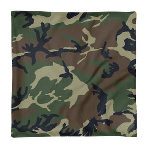 Camouflage Pattern Print, Premium Pillow Case