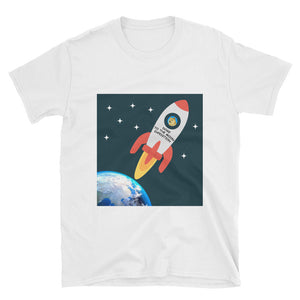 Doge To The Moon Expedition, Short-Sleeve Unisex T-Shirt