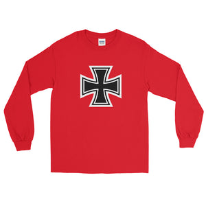 Maltese Cross, Men's Long Sleeve T-Shirt
