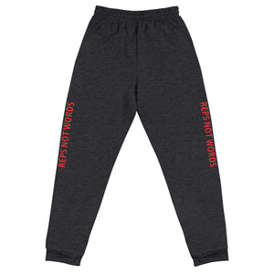 Reps Not Words, Unisex Joggers