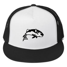 Load image into Gallery viewer, Bass Fish, Classic Trucker Cap