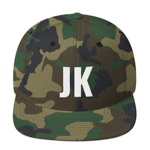 Design your Own Initials Alphabet Letters, Snapback Hat Camouflage
