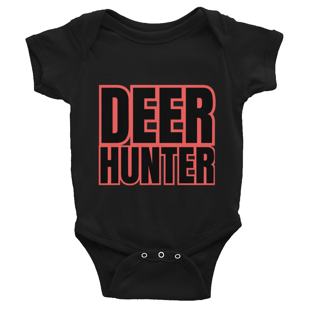 deer hunter baby bodysuit