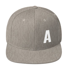 Load image into Gallery viewer, Alphabet Letter A, Snapback Hat