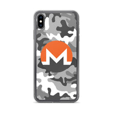 Load image into Gallery viewer, Monero Cryptocurrency Logo, iPhone 6-XSmax Case Camo