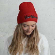 Load image into Gallery viewer, Satoshi Nakamoto, Unisex Cuffed Beanie