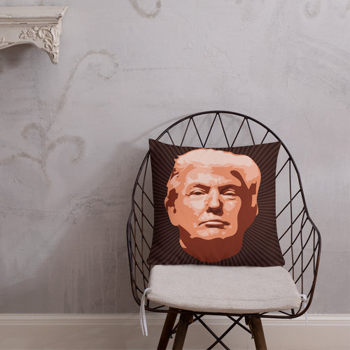 Donald Trump, Premium Throw Pillow